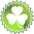Green Clover - Stock Vector