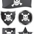 Skull and Crossbones — Stockvektor