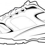 Tennis Shoe — Stock Vector
