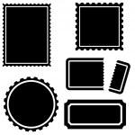 Stamp Set — Stock Vector