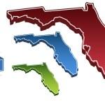 Florida 3D — Stock Vector #3990971