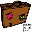 Suitcase — Stock Vector