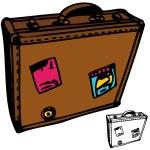 Suitcase — Stock Vector