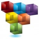 Geometric Cube Pattern — Stock Vector #3993830