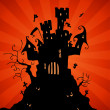 Haunted Castle — Stock Vector