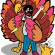 Return of the Turkey King — Stock Vector #3999939