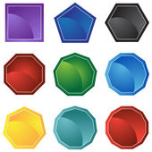 Formas de ícone — Vetorial Stock