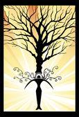 Power Tree — Stock Vector