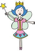 Fairy Princess — Stock Vector