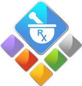 RX Symbol — Stock Vector