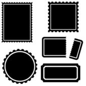 Stamp Set — Stock Vector