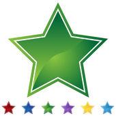 Star Set — Stock Vector