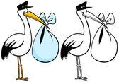 Stork — Stock Vector
