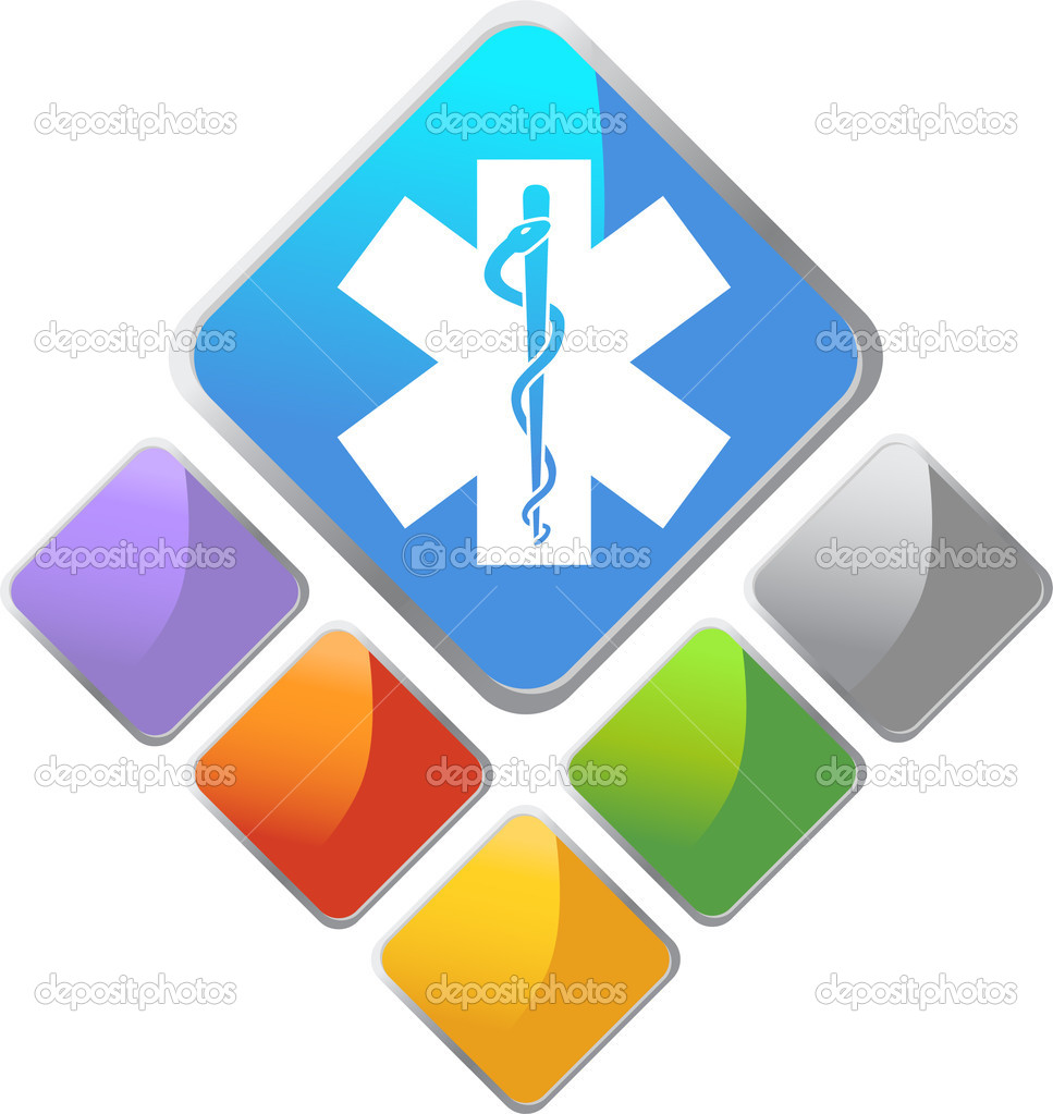 An image of a medical symbol. — Stock Vector #3990924