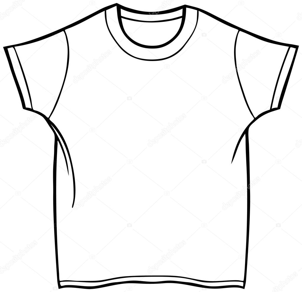 Line Art Shirt : T shirt — stock vector cteconsulting