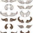 Angel Wings - Stock Vector