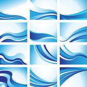 Origines de la vague — Vecteur