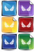 Wings — Stock Vector