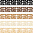 Wood Trim Pattern — Stock Vector