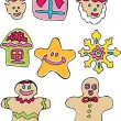 Royalty-Free Stock Vector Image: Holiday Cookies