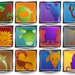 Zodiac Symbols — Vetor de Stock  #4023875