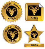 Zodiac - Aries — Vetorial Stock