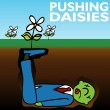 Pushing Daisies — Vector de stock #4072929