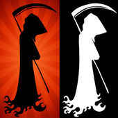 Grim Reaper Set — Stock Vector
