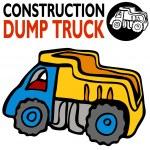 Постер, плакат: Dump Truck