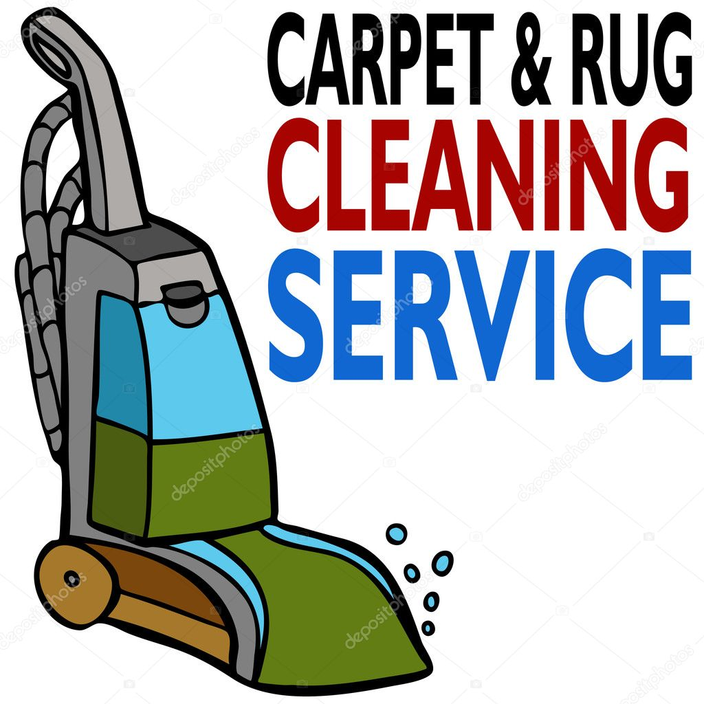 An image of carpet cleaning service. — Stock Vector #4134586