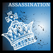 Stock Vector: Royal Assassination