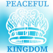 Peaceful Kingdom — Vettoriali Stock