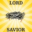Lord Savior Thorn Crown — Stock Vector #4150387