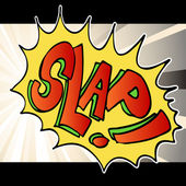 Slap Noise Background — Stock Vector