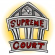 Supreme Court - Stock Vector