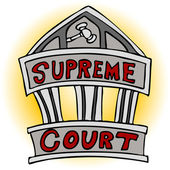 Supreme Court — Stock Vector