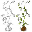 Plant Vine - Stock Vector
