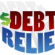 Stock Vector: Debt Relief