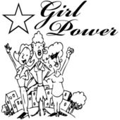 Girl Power — Stock Vector