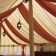 Stock Photo: Inside marquee