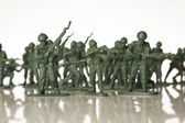 Toy soldiers — Stockfoto