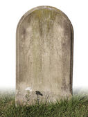 Single grave stone — Stock fotografie
