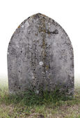 Single grave stone — Stock Photo