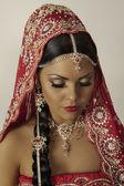 Modelo indiano — Fotografia Stock