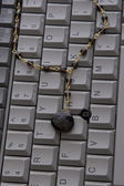 High fashion keyboard — Stock Photo