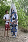 Attente pour le surf — Photo