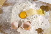 Messy baking — Stock Photo