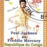 Постер, плакат: Paul Jackson as Freddie Mercury