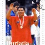 Постер, плакат: Boxer Muhammad Ali