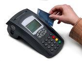 Hitelkártya terminálon